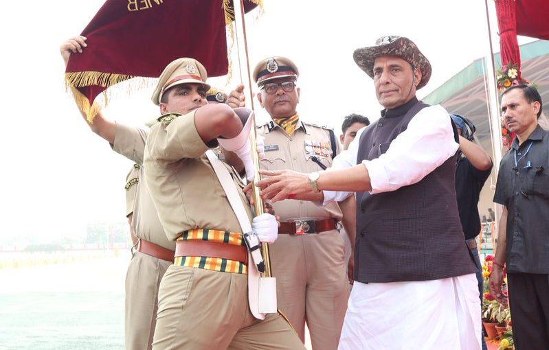 Union Home Minister Shri Rajnath Singh addresses the ITBP 55th Raising Day Parade