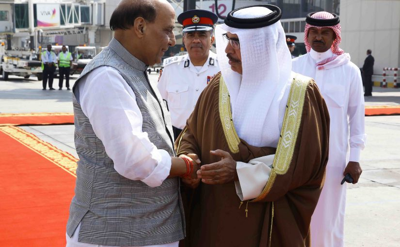 Union Home Minister Shri Rajnath Singh and his Bahrain counterpart held productive session