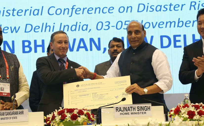 Address by Union Home Minister Shri Rajnath Singh on the occasion of Closing Ceremony of AMCDRR, 2016