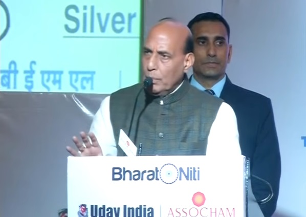 Government is working towards reducing dependencies on other countries in defence sector: Shri Rajnath Singh