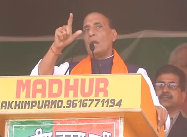 Shri Rajnath Singh addresses election meetings in Uttar Pradesh