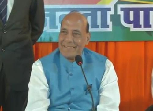Shri Rajnath Singh interaction with Media in Varanasi, Uttar Pradesh