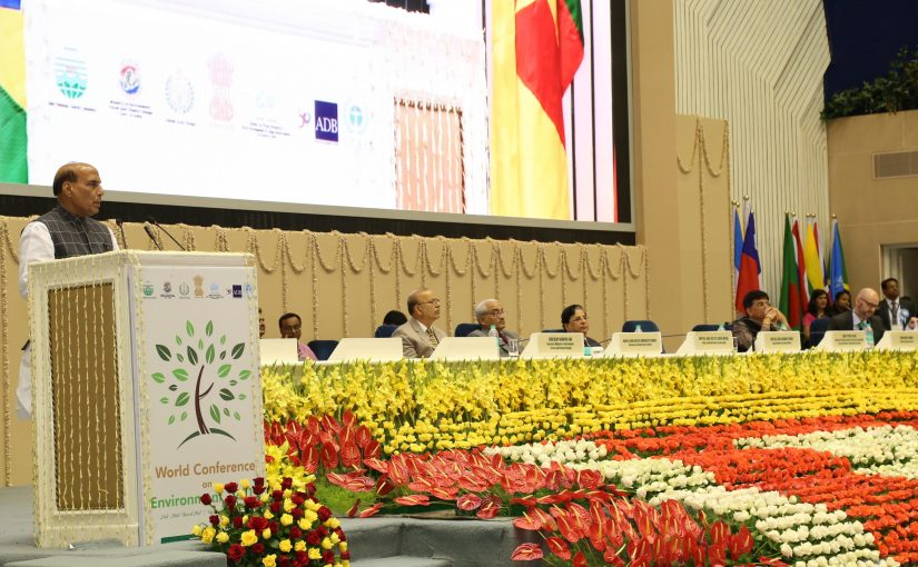 Union Home Minister Shri Rajnath Singh speech at World Conference on Environment