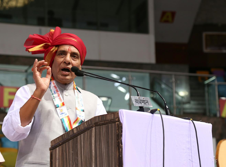 Shri Rajnath Singh at Mahavir Jayanti function (2)
