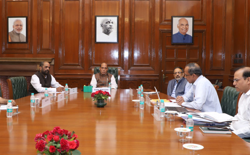 Union Home Minister Shri Rajnath Singh calls for expediting online cybercrime reporting portal