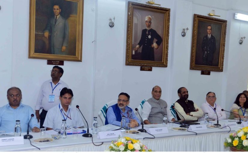 Government committed to smoothen Immigration and Visa processes: Shri Rajnath Singh