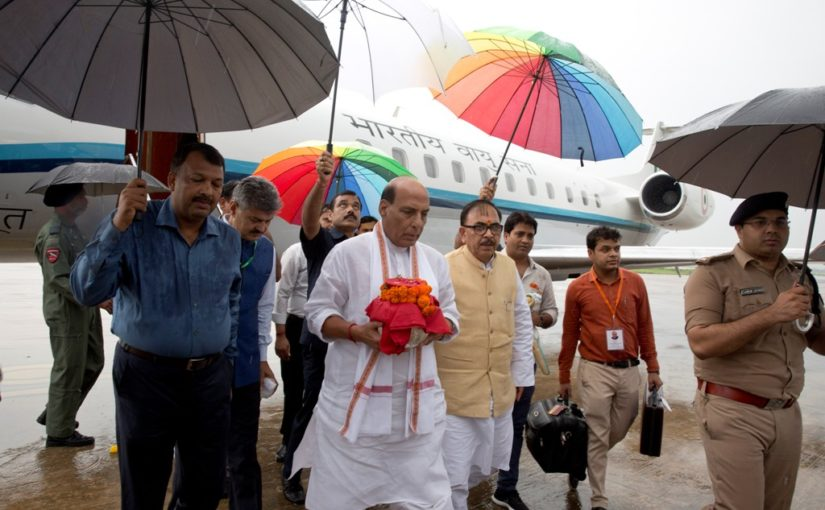 लखनऊ में परम श्रद्धेय अटल बिहारी वाजपेयी जी की अस्थि कलश यात्रा