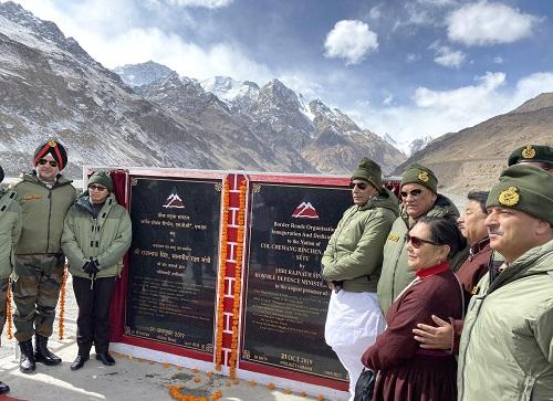 Government committed to bolstering border infrastructure: Raksha Mantri Shri Rajnath Singh