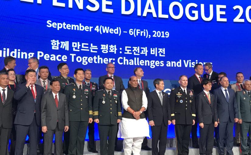 रक्षा मंत्री श्री राजनाथ सिंह ने दक्षिण कोरिया की रक्षा निर्माण कंपनियों को भारत में निवेश के लिए आमंत्रित किया