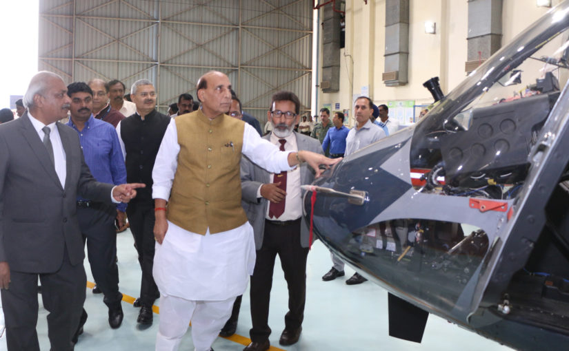 Raksha Mantri Shri Rajnath Singh calls for more R&D effort in Defence to achieve self-reliance