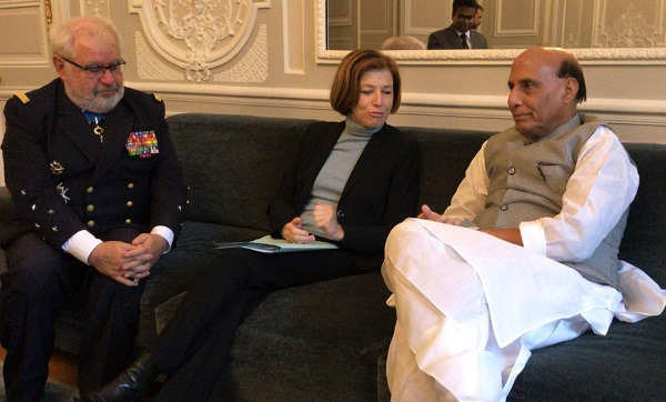 Raksha Mantri Rajnath Singh says strong cooperation between India and France will continue to grow and contribute to global peace, prosperity and environmental sustainability.