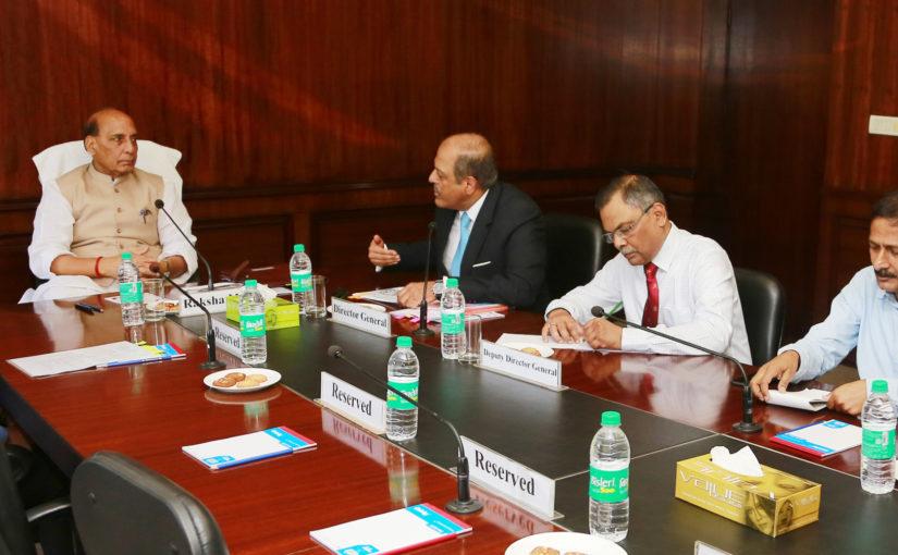 सरकार रक्षा क्षेत्र में निजी उद्योग के निवेश को बढ़ावा देने के पक्ष में : रक्षा मंत्री श्री राजनाथ सिंह