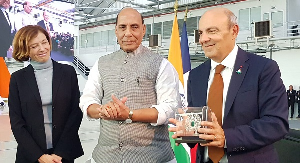 Raksha Mantri Shri Rajnath Singh holds second Annual Defence Dialogue with his French counterpart;
