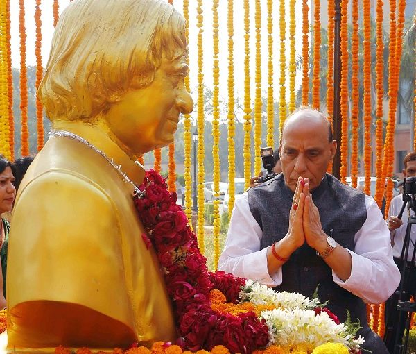 Raksha Mantri Shri Rajnath Singh remembers Dr A P J Abdul Kalam