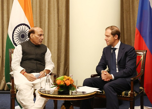 Raksha Mantri Shri Rajnath Singh urges Russian Defence Industry to jointly manufacture defence equipment with India