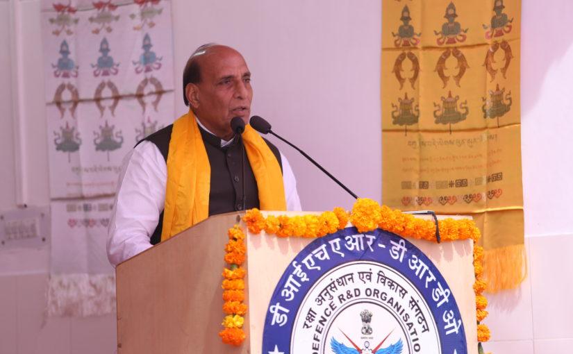 Raksha Mantri at Inaugural Function of Kisan Jawan Vigyan Mela at Leh