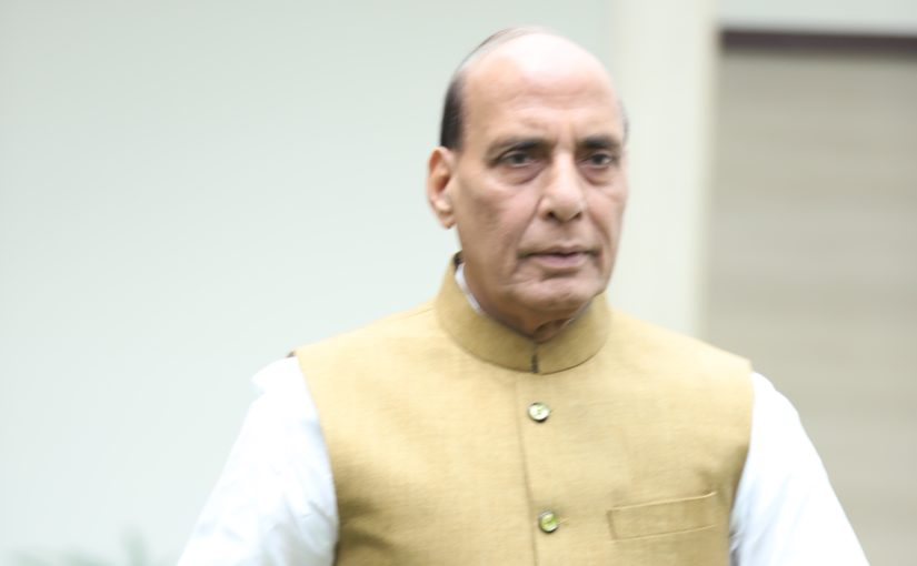 If Pakistan keeps supporting terrorism, it will self-implode: Shri Rajnath Singh