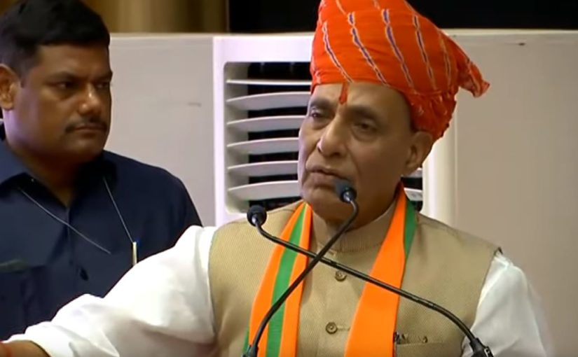 RM Shri Rajnath Singh launches BJP's membership drive from Jaipur, Rajasthan
