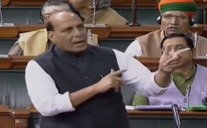 Raksha Mantri Shri Rajnath Singh statement on Pragya Thakur's remark on Nathuram Godse in Lok Sabha