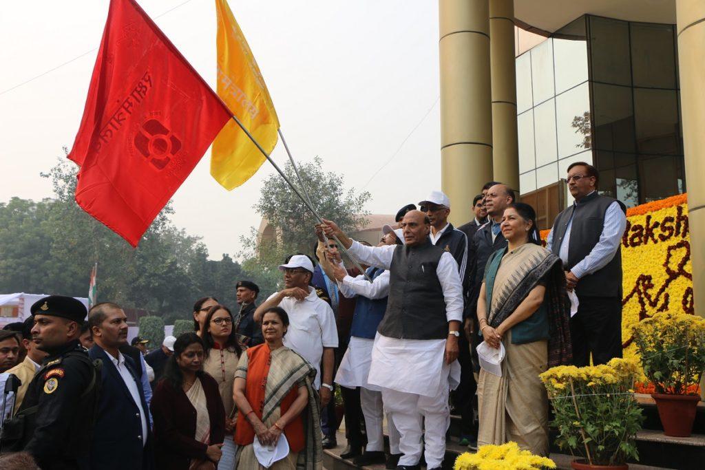 रक्षा मंत्री श्री राजनाथ सिंह ने सिंगल प्लास्टिक उपयोग के खिलाफ व्यापक अभियान को हरी झंडी दिखाई