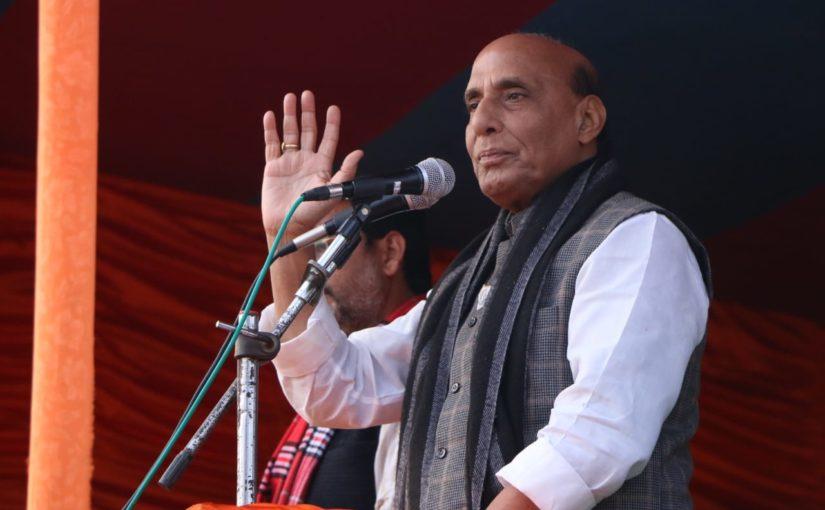ननकाना साहिब पर हमले जैसी घटनाओं ने CAA कानून लाने को किया विवश: रक्षामंत्री राजनाथ सिंह