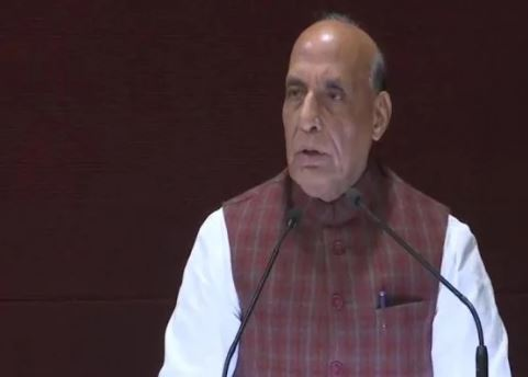 Raksha Mantri Shri Rajnath Singh reaffirms India's firm resolve to tackle cross-border terrorism;