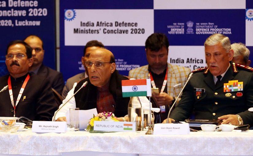 Raksha Mantri Shri Rajnath Singh says, Africa is at the top of India's priorities