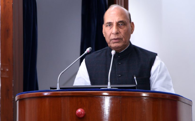 $5 trillion economy target can be achieved through increased private sector participation in defence manufacturing, says Raksha Mantri Shri Rajnath Singh