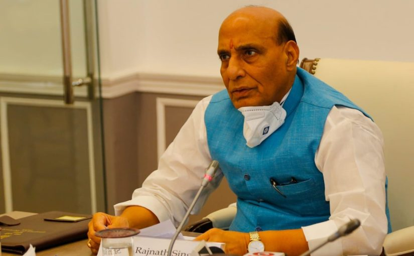 Shri Rajnath Singh launches insurance scheme to benefit 10,000 workers in Cantonments