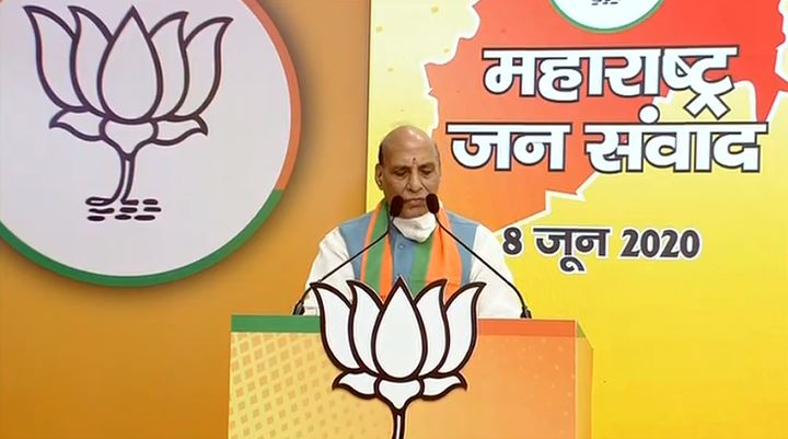 Addressing the Maharashtra BJP Karyakartas at a 'Virtual Rally'. Watch