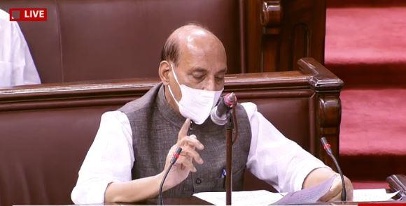 17 सितंबर को रक्षामंत्री श्री राजनाथ सिंह का राज्य सभा में वक्तव्य