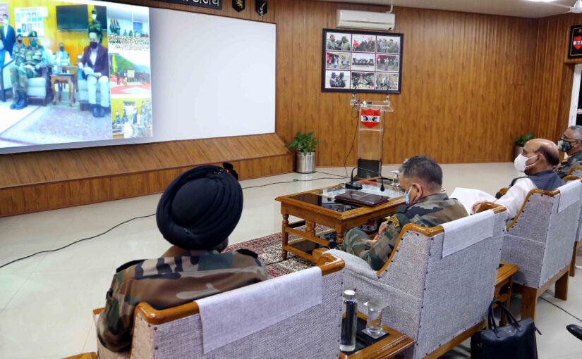 रक्षा मंत्री श्री राजनाथ सिंह ने पूर्वी सिक्किम में बीआरओ सड़क राष्ट्र को समर्पित की