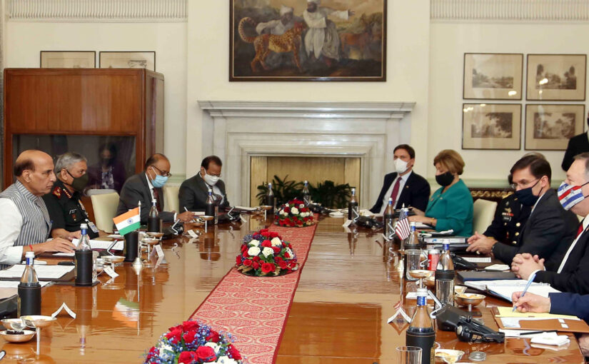 Press Statement after Ministerial Level India-US 2+2 Dialogue in New Delhi