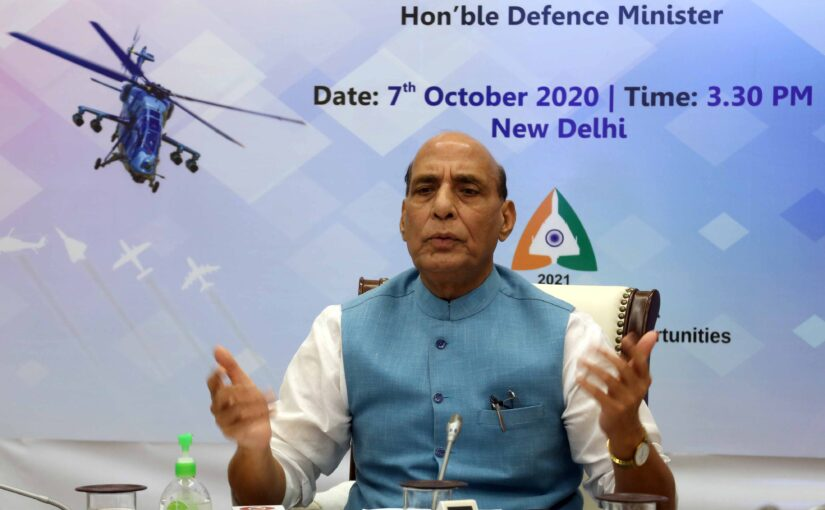 India to be among top five defence producers in the World: RM Shri Rajnath Singh