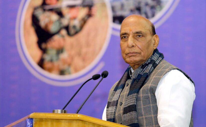 Raksha Mantri Shri Rajnath Singh appeals to youth to gain knowledge of the country's military history
