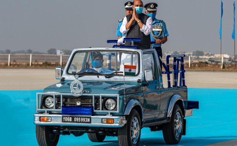 डंडीगल में आईएएफ अकादमी में संयुक्त स्नातक परेड के अवसर पर रक्षामंत्री श्री राजनाथ सिंह का सम्बोधन