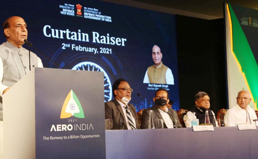 Curtain Raiser Aero India 2021