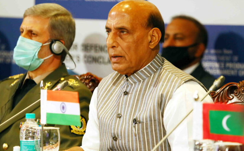 Open seas and respect for international law essential for security for IOR: Shri Rajnath Singh