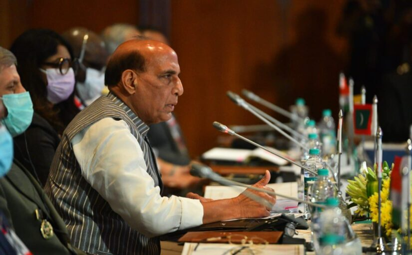 Shri Rajnath Singh Addresses the IOR Defence Ministers' Conclave in Bengaluru.